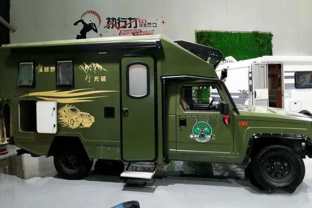 都市丛林房车这款四驱北汽勇士柴油版,仅需29.8万元